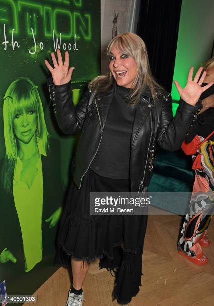 Brix SmithStart attends the launch of Jo Wood's new podcast Alien Nation With Jo Wood at The Groucho Club on May 1 2019 in London England