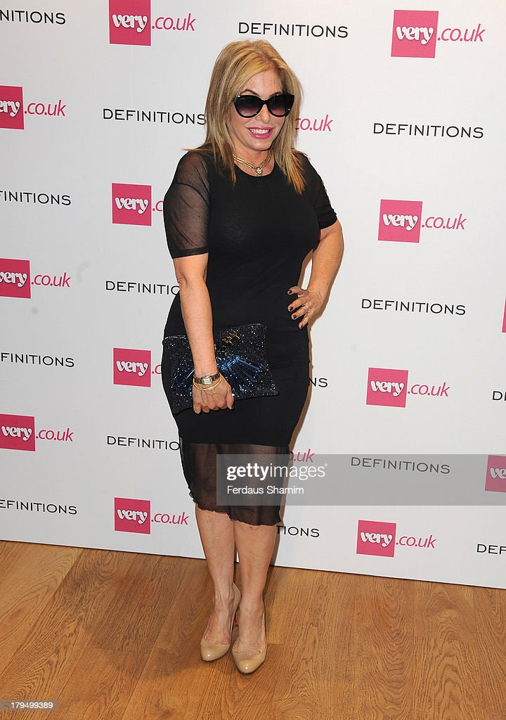 Brix Smith-Start attends the launch party of very.co.uk's Definitions range at Somerset House on September 4, 2013 in London, England.