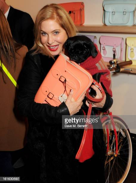 Brix SmithStart attends the opening of the Cambridge Satchel Company's Covent Garden store on February 13 2013 in London England