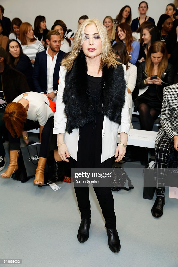 Mercedes-Benz Presents Xiao Li AW 2016 Collections - Front Row - London Fashion Week