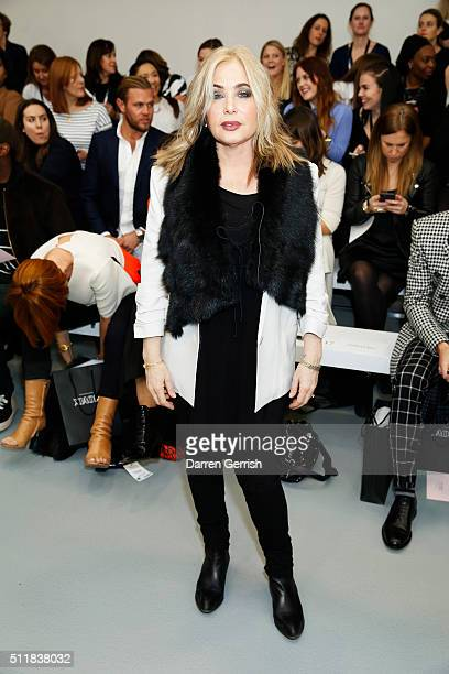 Brix SmithStart attends the Xiao Li AW 2016 Collections show presented by MercedesBenz at Brewer Street Car Park on February 23 2016 in London England