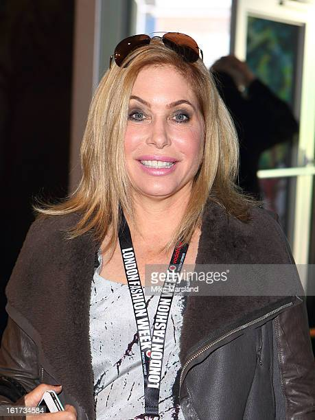 Brix SmithStart attends the Zoe Jordan show during London Fashion Week Fall/Winter 2013/14 at Somerset House on February 15 2013 in London England