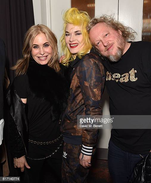 Brix SmithStart Pam Hogg and Jeffrey Hinton attend Ffrench Pharmaceuticals Presents Culinary Cosmetics on March 23 2016 in London England