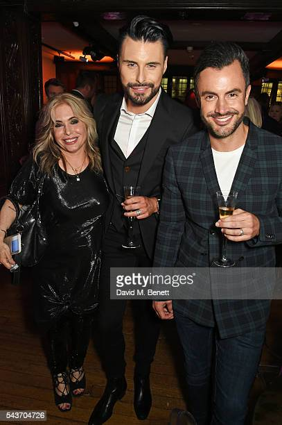 Brix SmithStart Rylan Clark and Dan Neal attend the World Premiere after party of 'Absolutely Fabulous The Movie' at Liberty on June 29 2016 in...