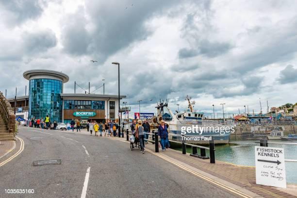 Brixham Fish Market and Harbour