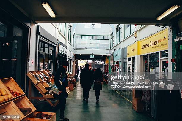 brixton market in london - brixton stock photos and pictures