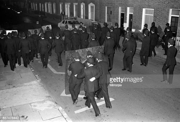Brixton Riots 1981 Riot police move in to stop the rioters from causing more damage