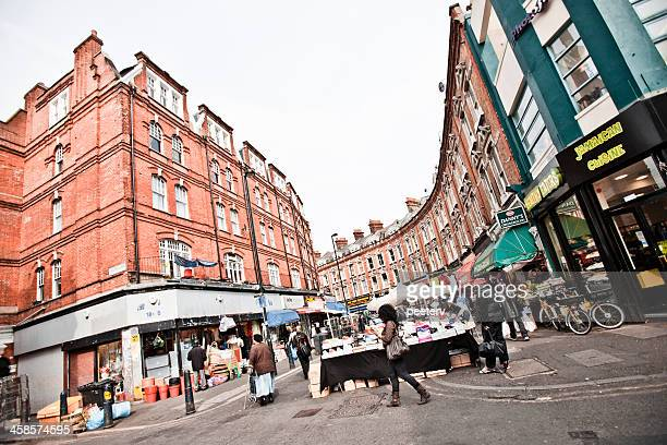 brixton street market - brixton stock photos and pictures