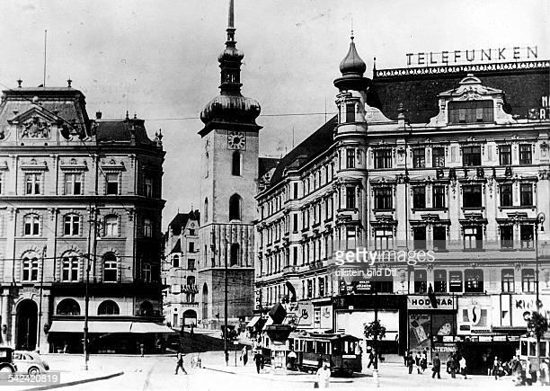 Brünn: Jakobskirche- um 1939