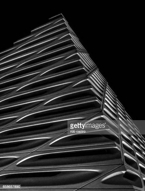 broad museum - rob castro stock pictures, royalty-free photos & images