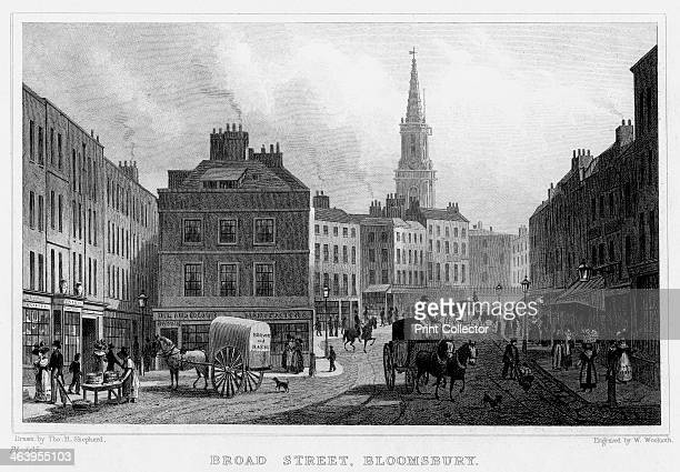 Broad Street Bloomsbury London 19th century