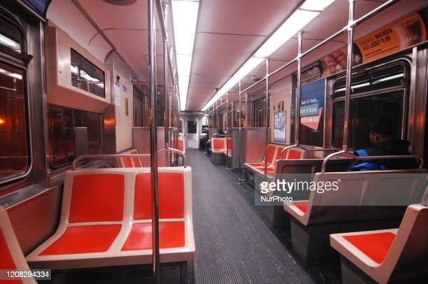 Broad Street Line trains usually packed run mostly empty in Philadelphia as many Philadelphians adhere to CDC guidance and instructions from state...