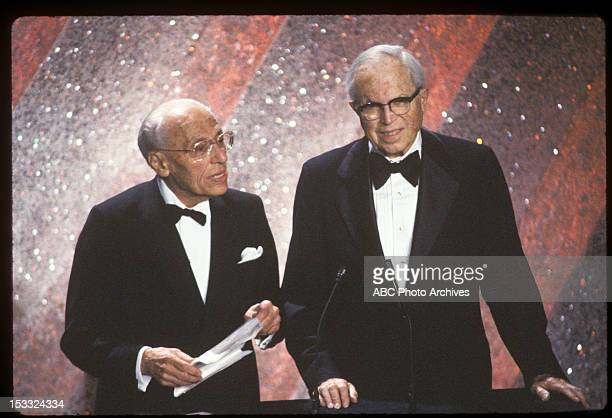 March 31 1981 BEST DIRECTOR PRESENTERS GEORGE CUKOR AND