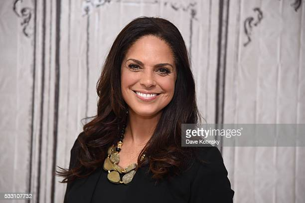 Broadcast journalist and executive producer Soledad O'Brien discusses The War Comes Home The New Battlefront at AOL Studios In New York on May 20...