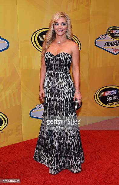 Broadcast journalist Danielle Trotta arrives at the 2014 NASCAR Sprint Cup Series Awards at Wynn Las Vegas on December 5 2014 in Las Vegas Nevada
