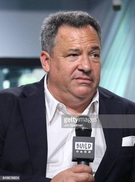 Broadcast journalist Josh Mankiewicz attends Build to discuss Dateline NBC at Build Studio on September 19 2017 in New York City