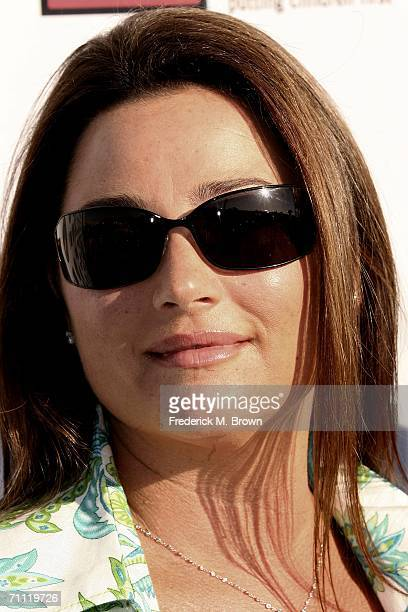 Broadcast journalist Keely Shaye Smith attends the First Star Annual Celebration of Children's Rights benefit at the Barker Hanger on June 3 2006 in...