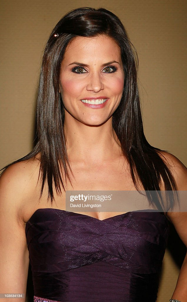 Broadcast journalist Lu Parker attends the Eagle & Badge Foundation Gala Honors at the Hyatt Regency Century Plaza on August 21, 2010 in Century City, California.
