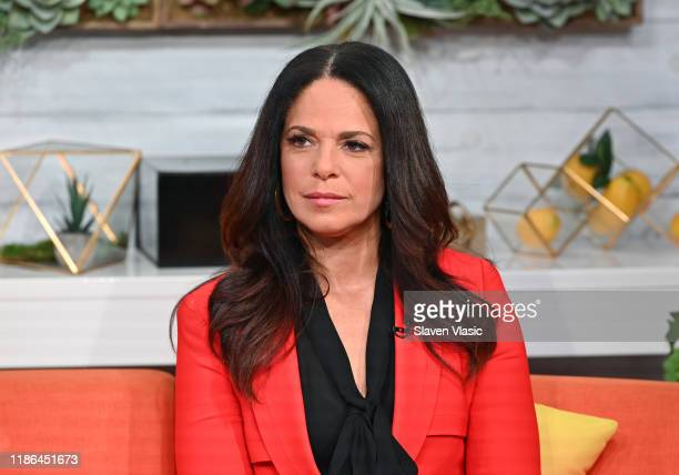 Broadcast journalist Soledad O'Brien visits BuzzFeed's AM To DM on November 08 2019 in New York City