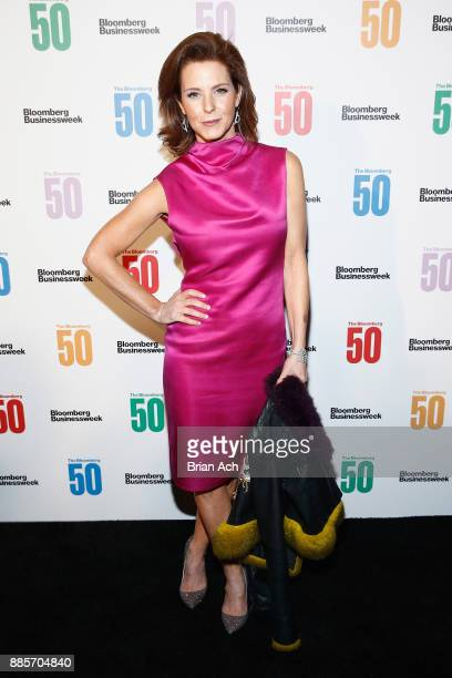 Broadcast journalist Stephanie Ruhle attends 'The Bloomberg 50' Celebration at Gotham Hall on December 4 2017 in New York City