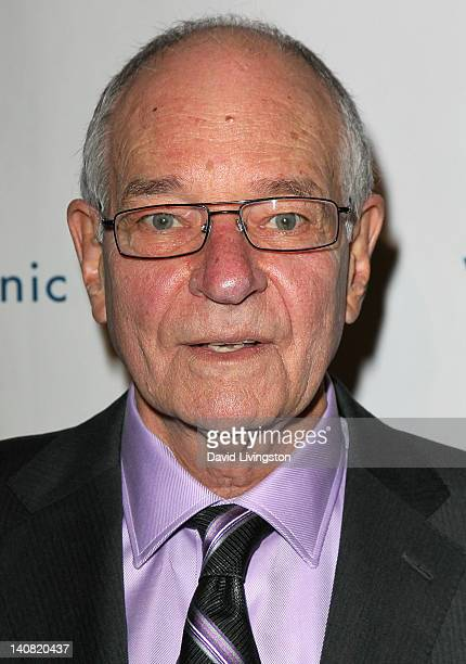 Broadcast journalist Warren Olney attends the annual Silver Circle Gala to benefit the Venice Family Clinic at the Beverly Hilton Hotel on March 6...