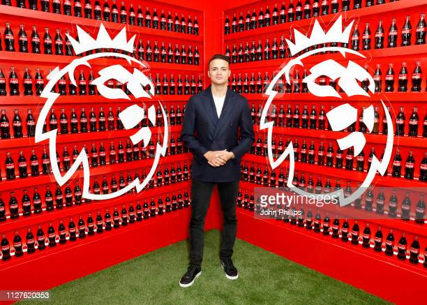 Broadcast pundit Jermaine Jenas attends the CocaCola and Premier League campaign launch party of 'Where Everyone Plays' as CocaCola's newest...