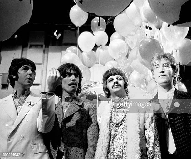 Broadcast to 26 countries and watched by 400 million the programme was broadcast via satellite on June 25 1967 The BBC had commissioned the Beatles...