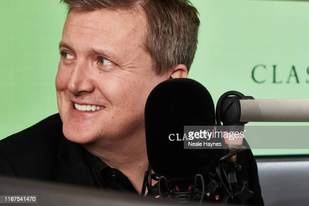 Broadcaster Aled Jones at Classic FM radio station is photographed for the Event magazine on February 6 2019 in London England