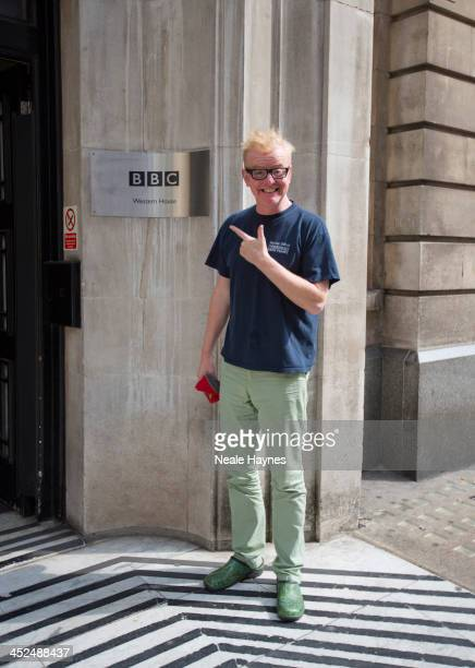Broadcaster and DJ Chris Evans is photographed for Event magazine in London England