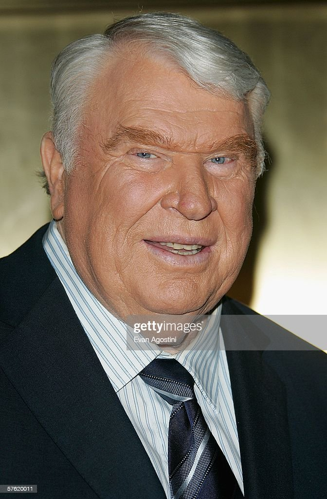 Broadcaster and former coach John Madden attends the NBC Primetime Preview 2006-2007 at Radio City Music Hall on May 15, 2005 in New York City.