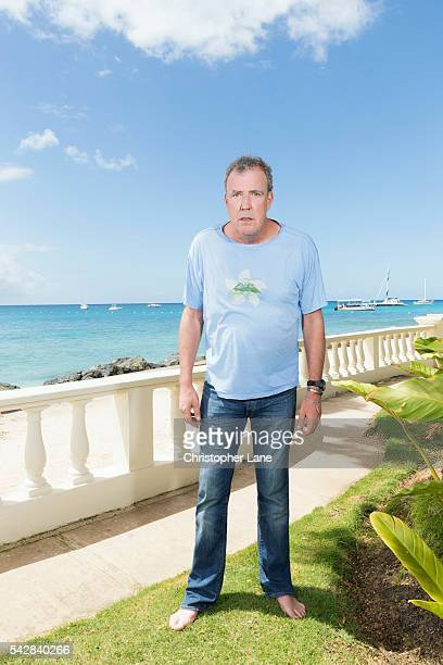 Broadcaster and journalist Jeremy Clarkson is photographed for The Times Magazine on February 20 2016 in Bridgetown Barbados COVER IMAGE