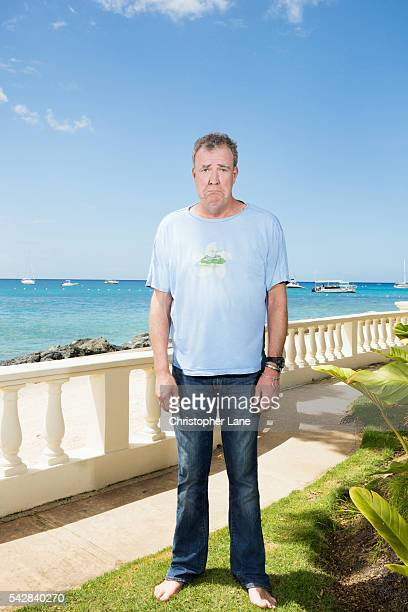 Broadcaster and journalist Jeremy Clarkson is photographed for The Times Magazine on February 20 2016 in Bridgetown Barbados
