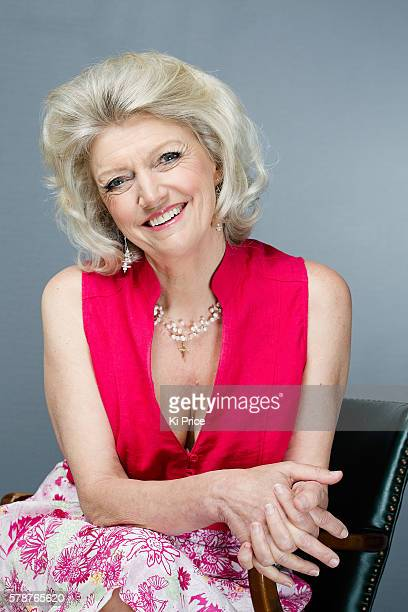 Broadcaster and writer Anne Atkins is photographed for the Daily Mail on June 24 2016 in London England