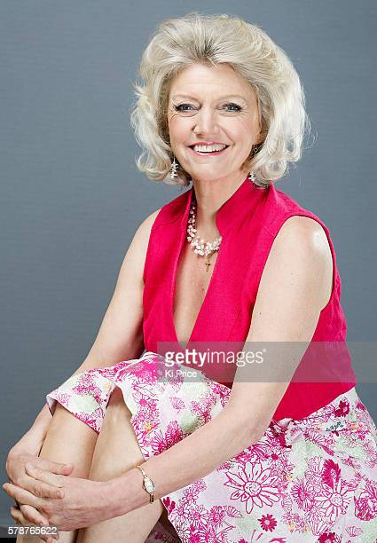 Broadcaster and writer Anne Atkins is photographed for the Daily Mail on June 24, 2016 in London, England.