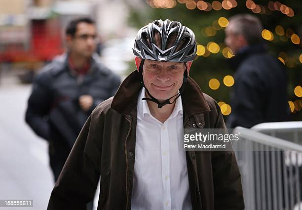Broadcaster Andrew Marr arrives at BBC Broadcasting House on December 19 2012 in London England The BBC Trust has announced the findings of the...
