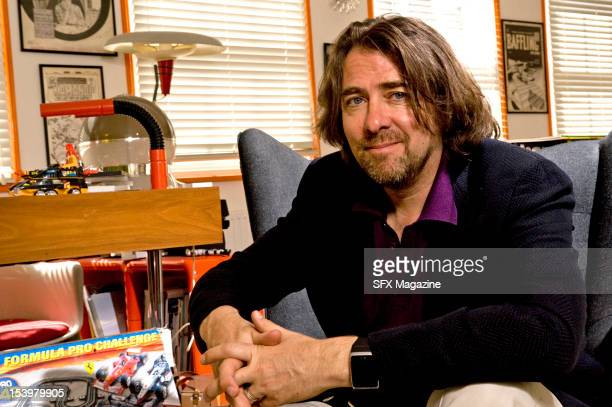 Broadcaster, author and comic book collector Jonathan Ross at his London office, July 15, 2011.