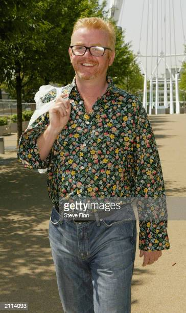 Broadcaster Chris Evans leaves his studios at County Court June 26 2003 in London Evans was not present in the High Court for the verdict in his 86m...