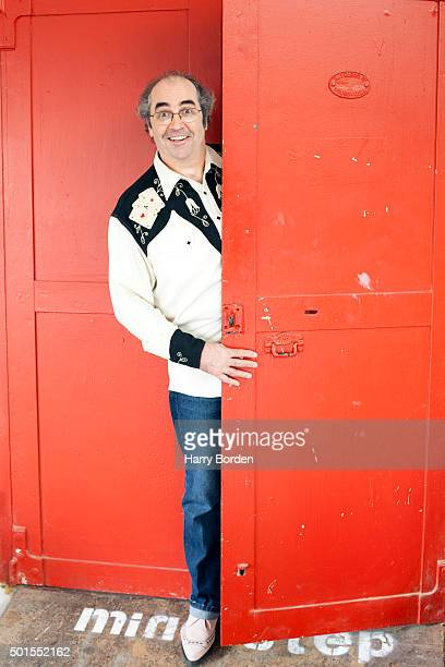 Broadcaster Danny Baker is photographed for on July 4 2012 in London England