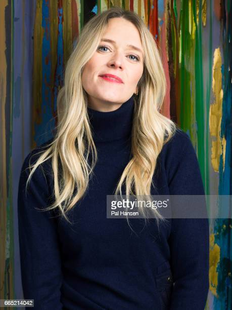 Broadcaster Edith Bowman is photographed for Psychologies on October 14 2016 in London England