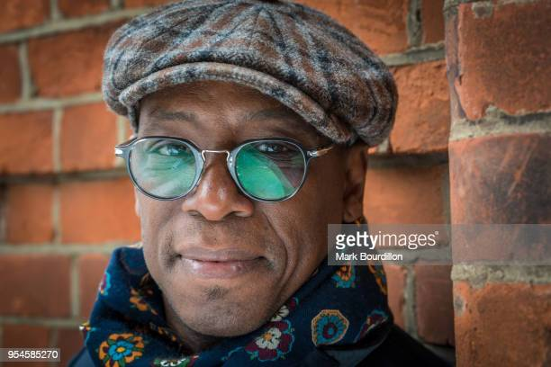 Broadcaster football pundit and former footballer Ian Wright is photographed on February 23 2018 in London England