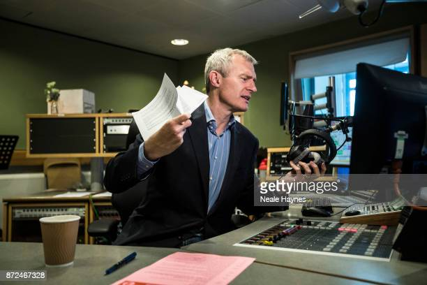 Broadcaster Jeremy Vine is photographed for Event magazine on July 26 2017 in London England