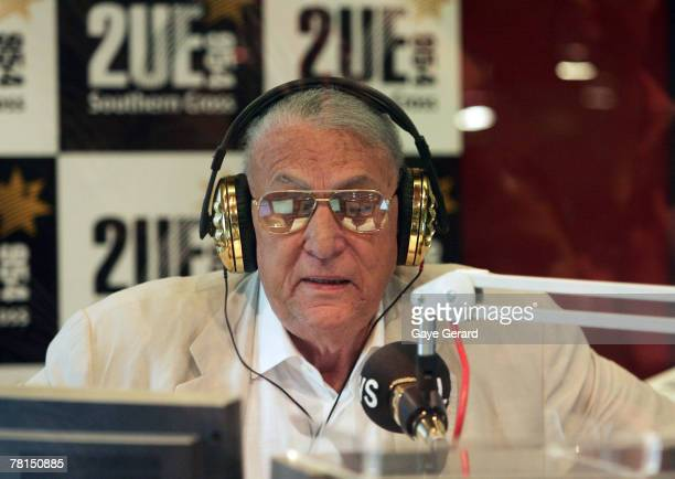 2UE broadcaster John Laws spends his final day in front of the microphone as one of Australia's highestrating radio announcers on the John Laws...