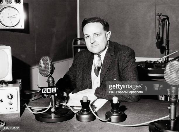 Popperfoto via Getty Images broadcaster Robert Hudson photographed in 1967 who was responsible for the launch of Popperfoto via Getty Images Test...