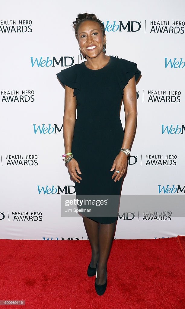 Broadcaster Robin Roberts attends the WebMD Health Hero Awards at TheTimesCenter on November 3, 2016 in New York City.