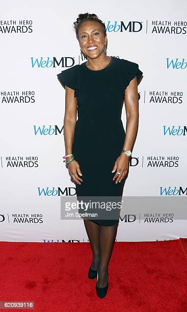 Broadcaster Robin Roberts attends the WebMD Health Hero Awards at TheTimesCenter on November 3 2016 in New York City