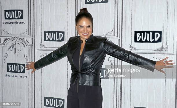 Broadcaster Soledad O'Brien attends the Build Series to discuss Starfish Media at Build Studio on September 17 2018 in New York City