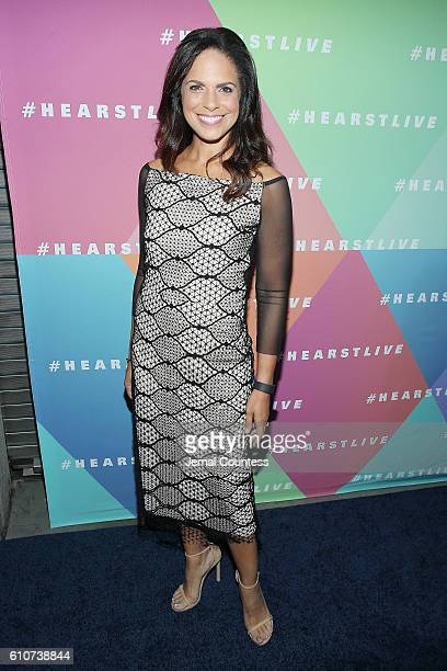 Broadcaster Soledad O'Brien attends the Hearst launch of HearstLive a multimedia news installation at 57th Street 8th Avenue on September 27 2016 in...