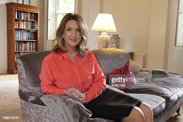 Broadcaster Victoria Derbyshire is photographed for Observer on September 15 2013 in London England