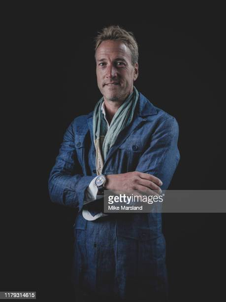 Broadcaster writer and adventurer Ben Fogle is photographed on October 18 2019 at Esquire Town House in London England