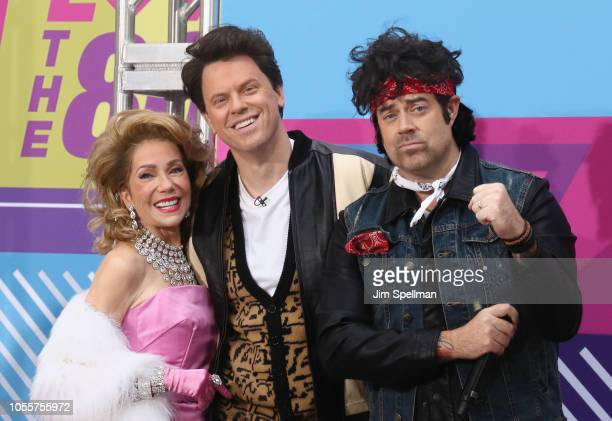 """Broadcasters Kathie Lee Gifford, Willie Geist and Carson Daly attend the NBC """"Today"""" Halloween 2018 at Rockefeller Plaza on October 31, 2018 in New..."""